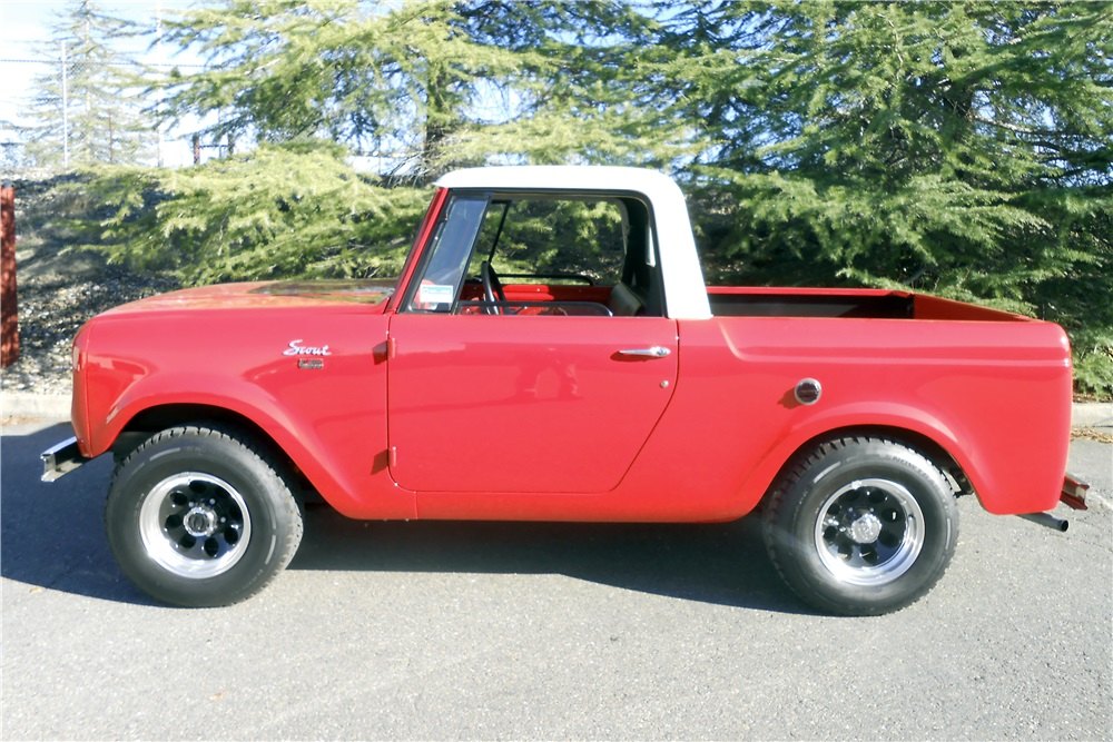 1965 International Scout 4x4 Pickup profile