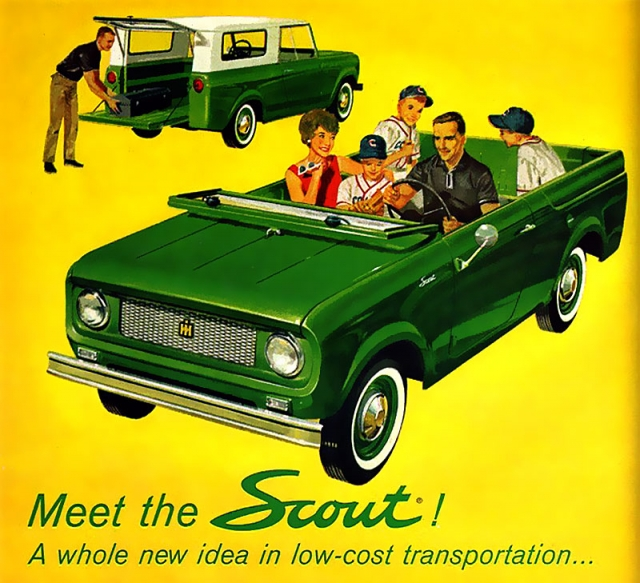 1961 International Harvester Scout Ad