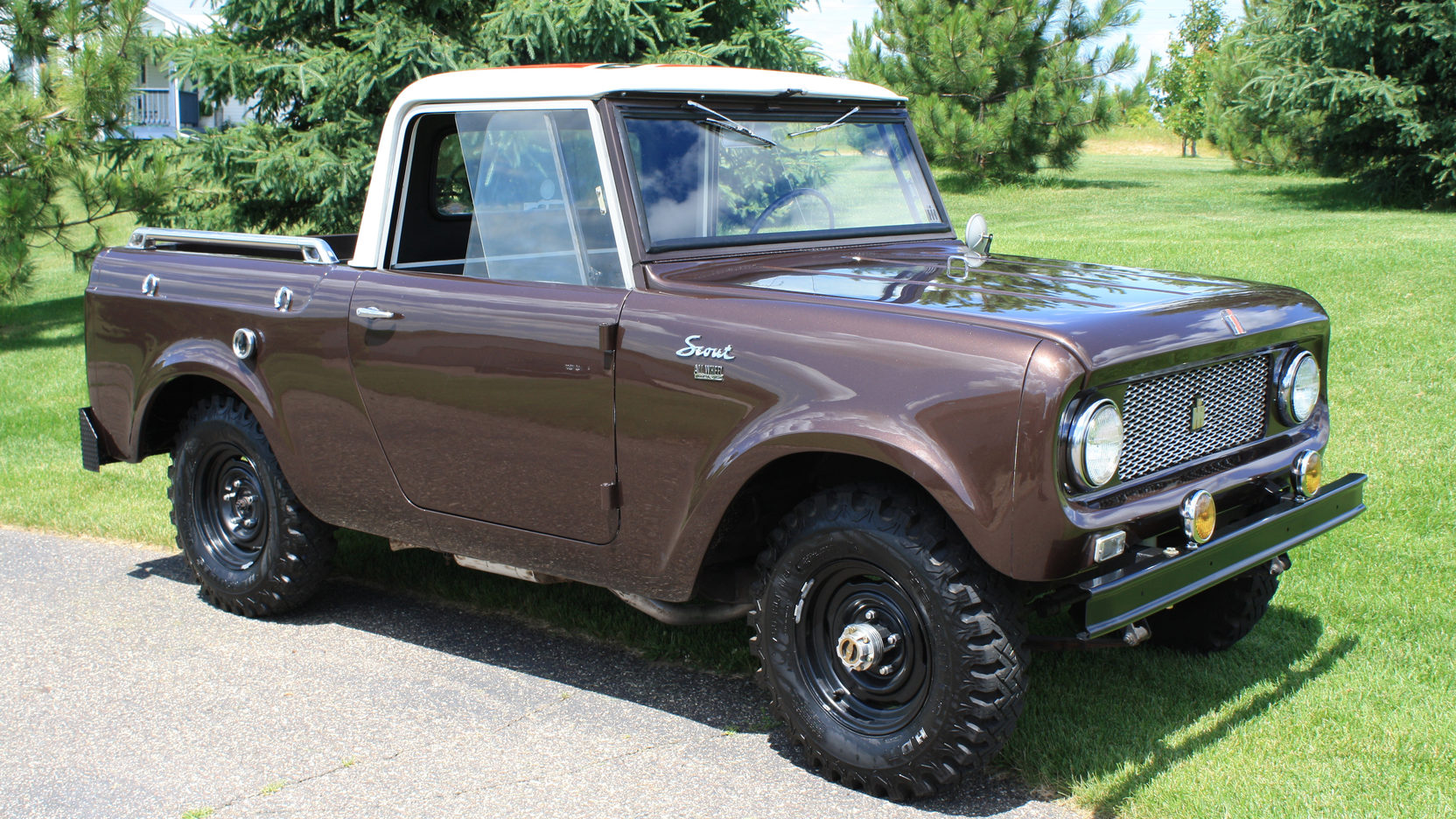 1962 International Scout 4x4 pickup