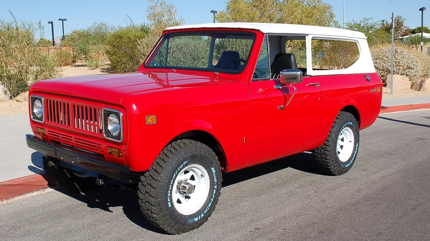 1978 International Scout II front 3/4
