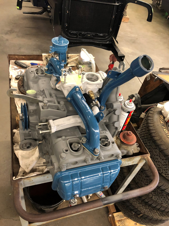 Corwin Engine restoration