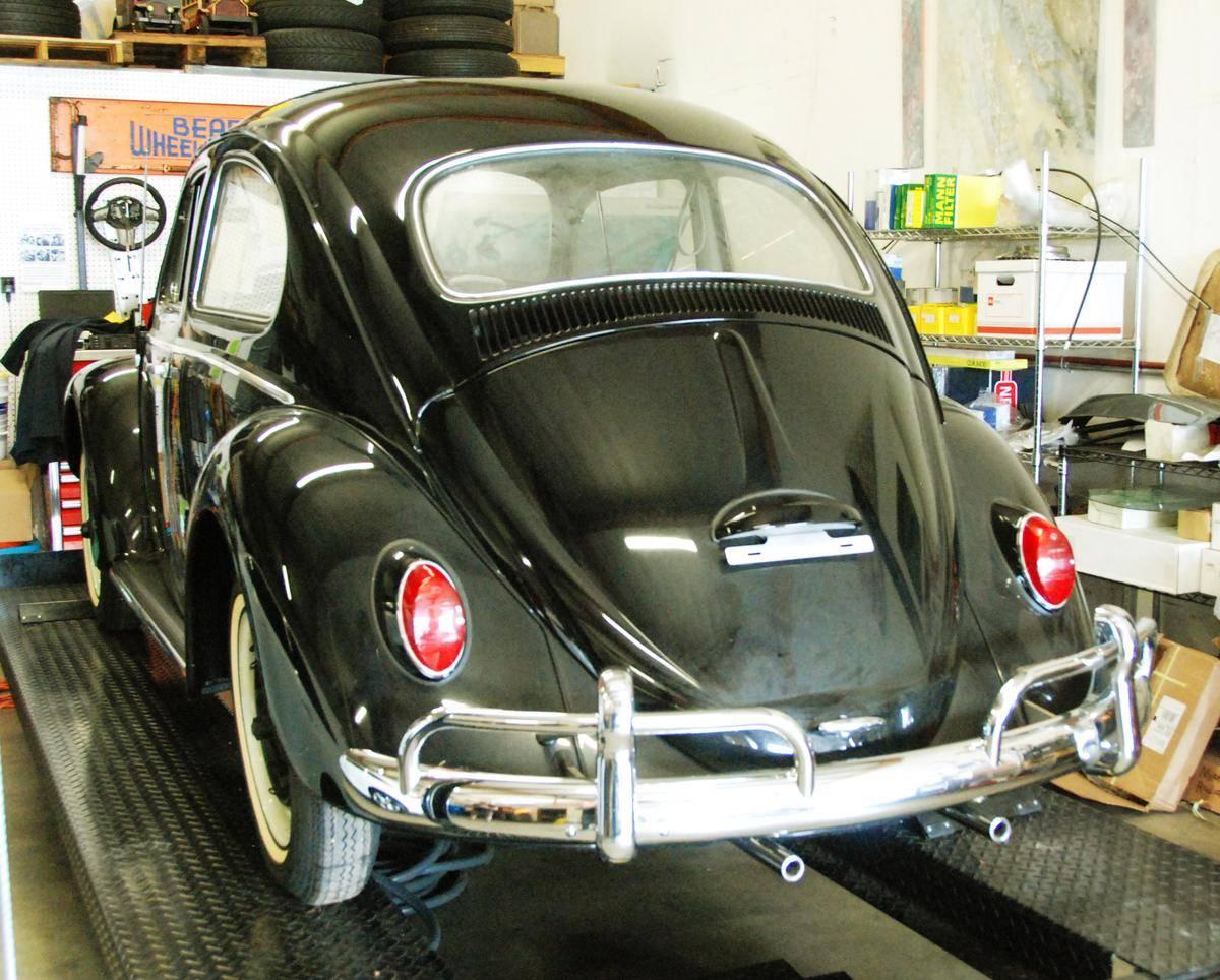 1964 Volkswagen Beetle 23 miles rear on lift