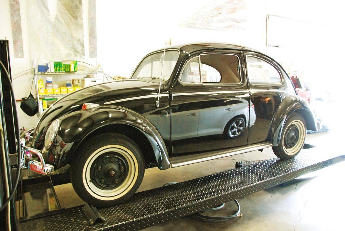 1964 Volkswagen Beetle 23 miles Side on lift