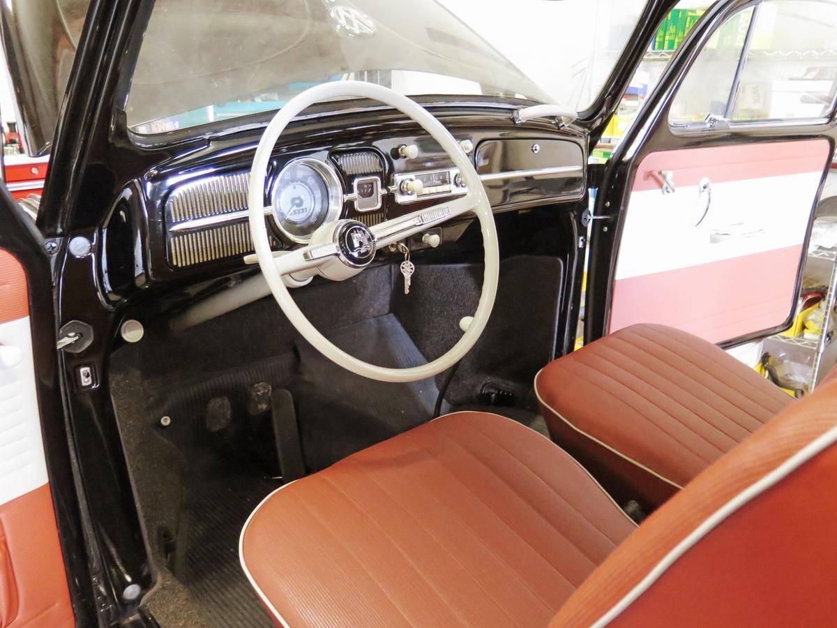 1964 Volkswagen Beetle 23 miles interior