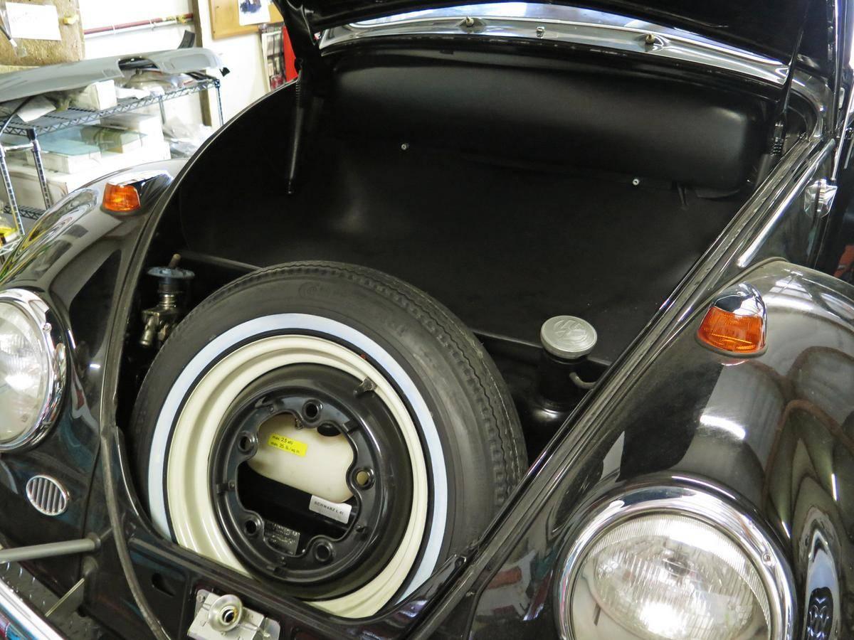 1964 Volkswagen Beetle 23 miles front trunk frunk