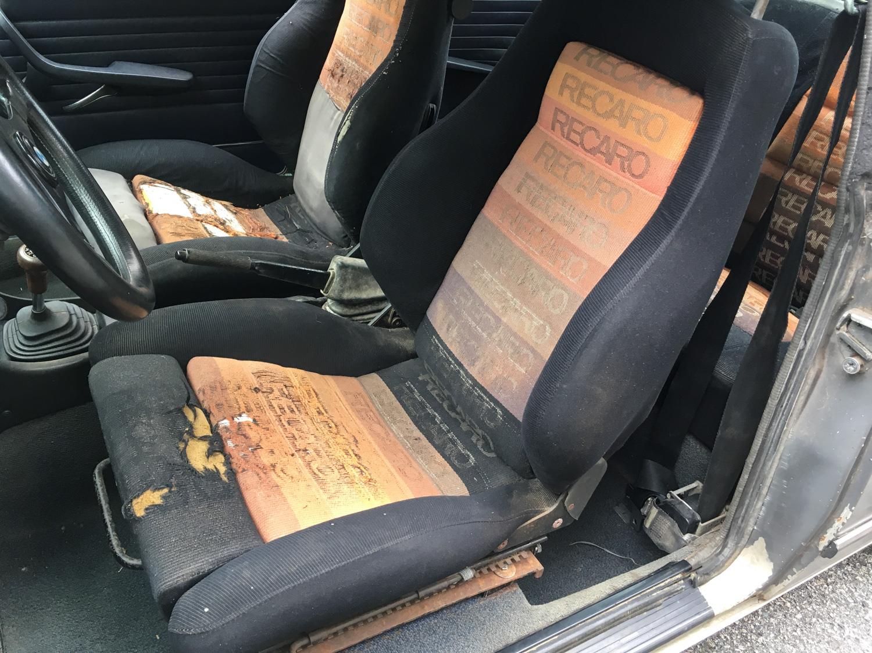 No more saggy bottom! recaro seats
