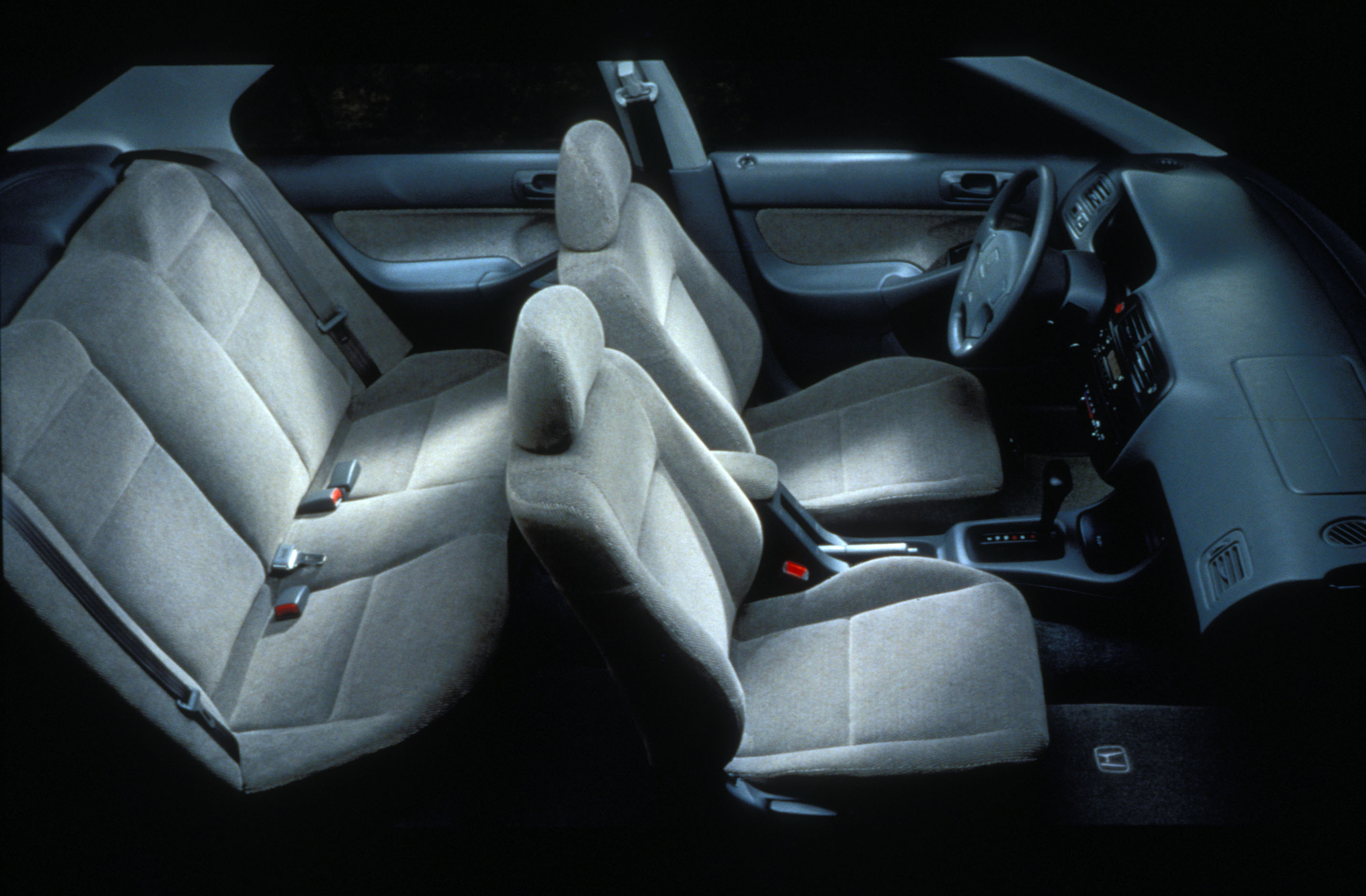 1996 Honda Civic interior