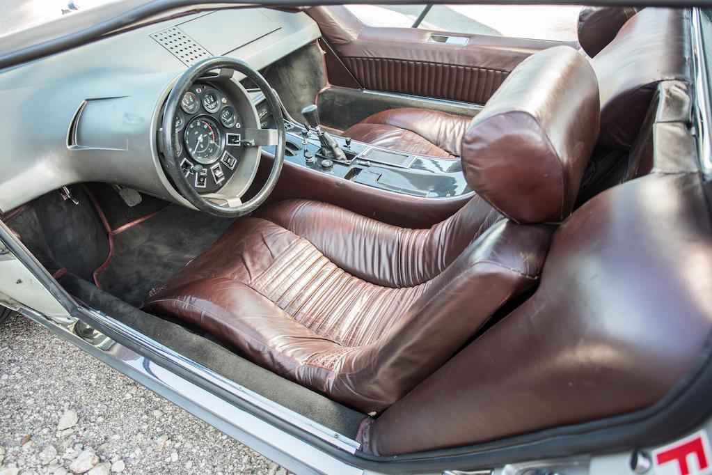 1972 Maserati Boomerang coupé interior
