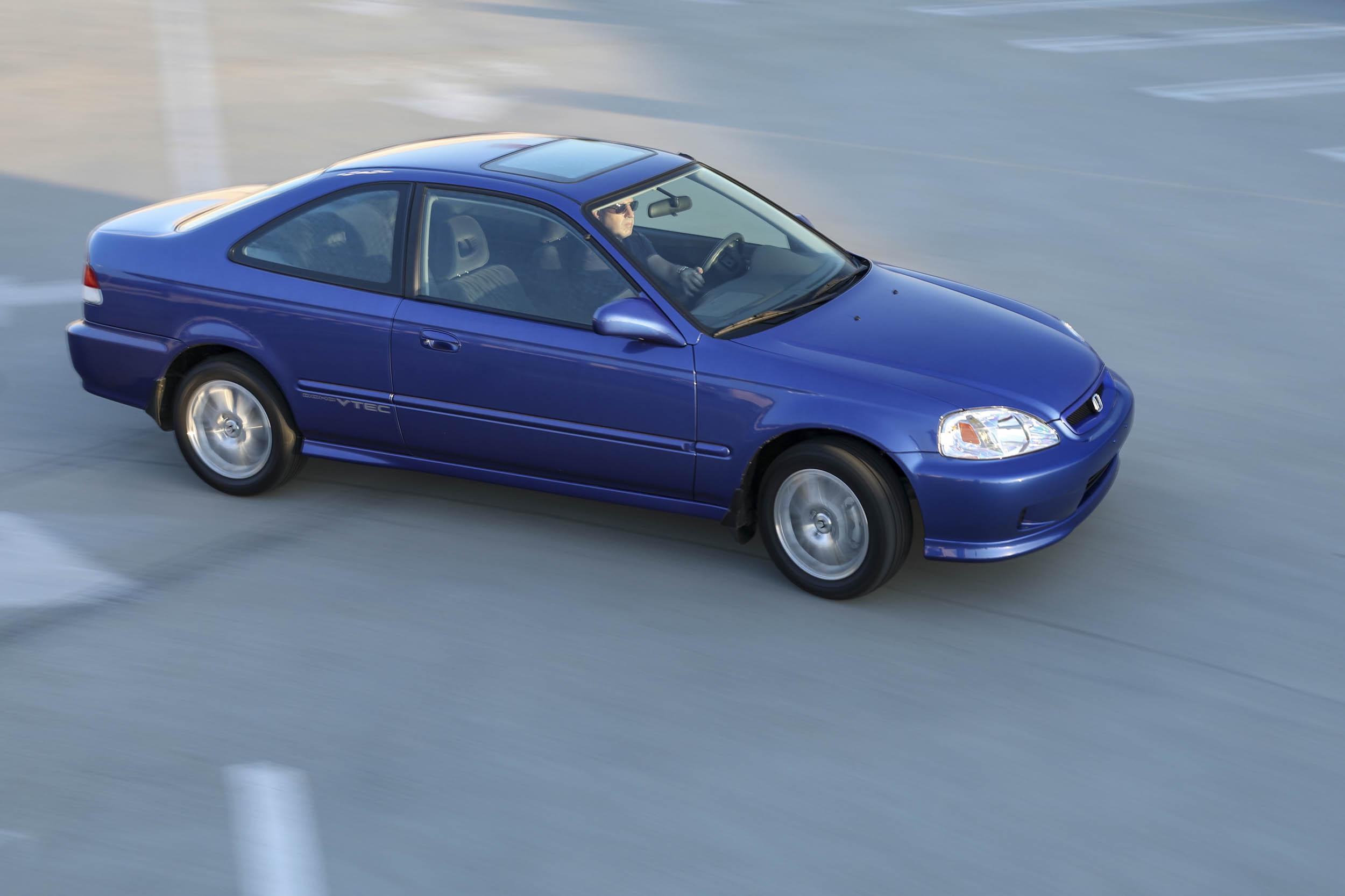 1999 Honda Civic Si  overhead