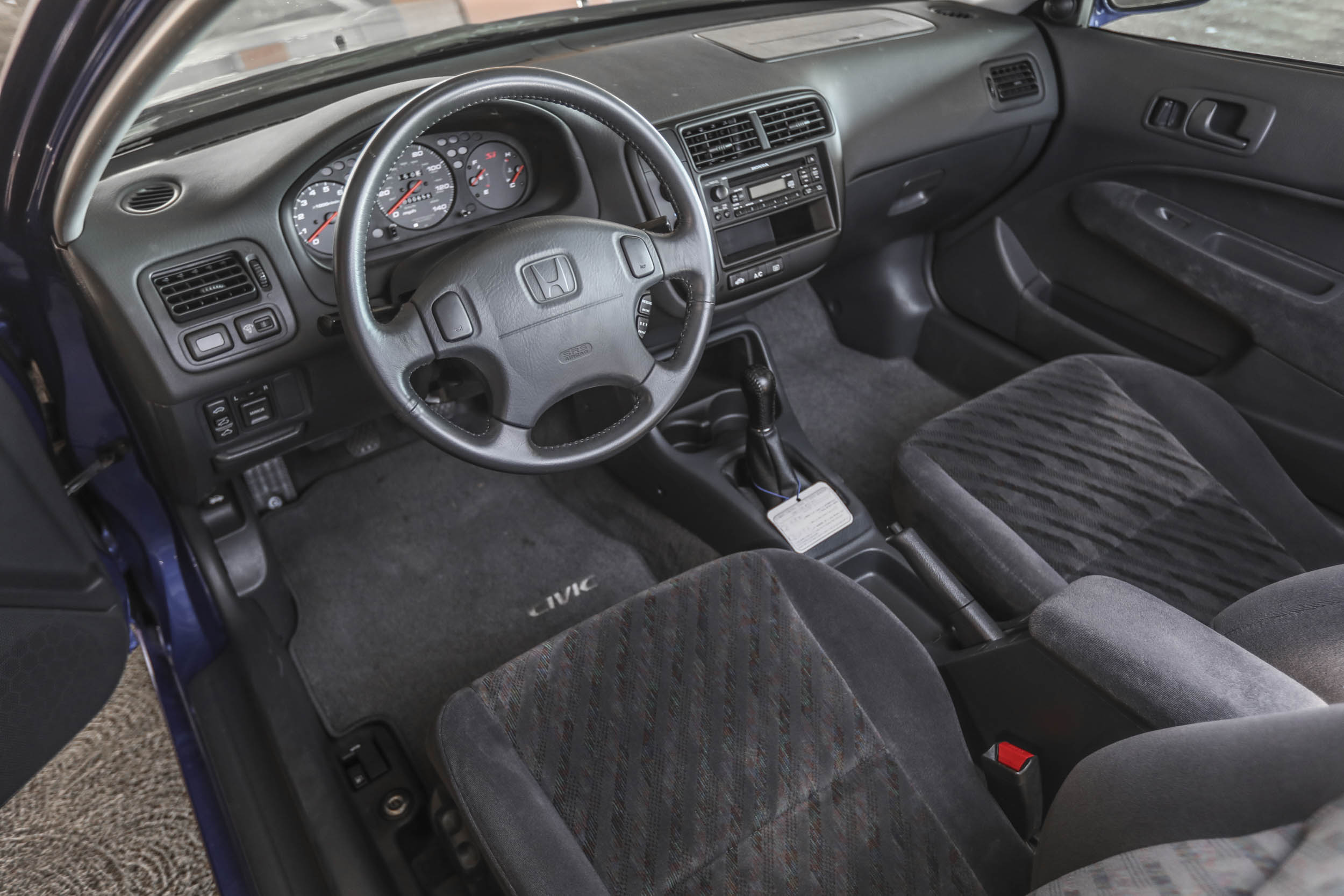 1999 Honda Civic Si interior