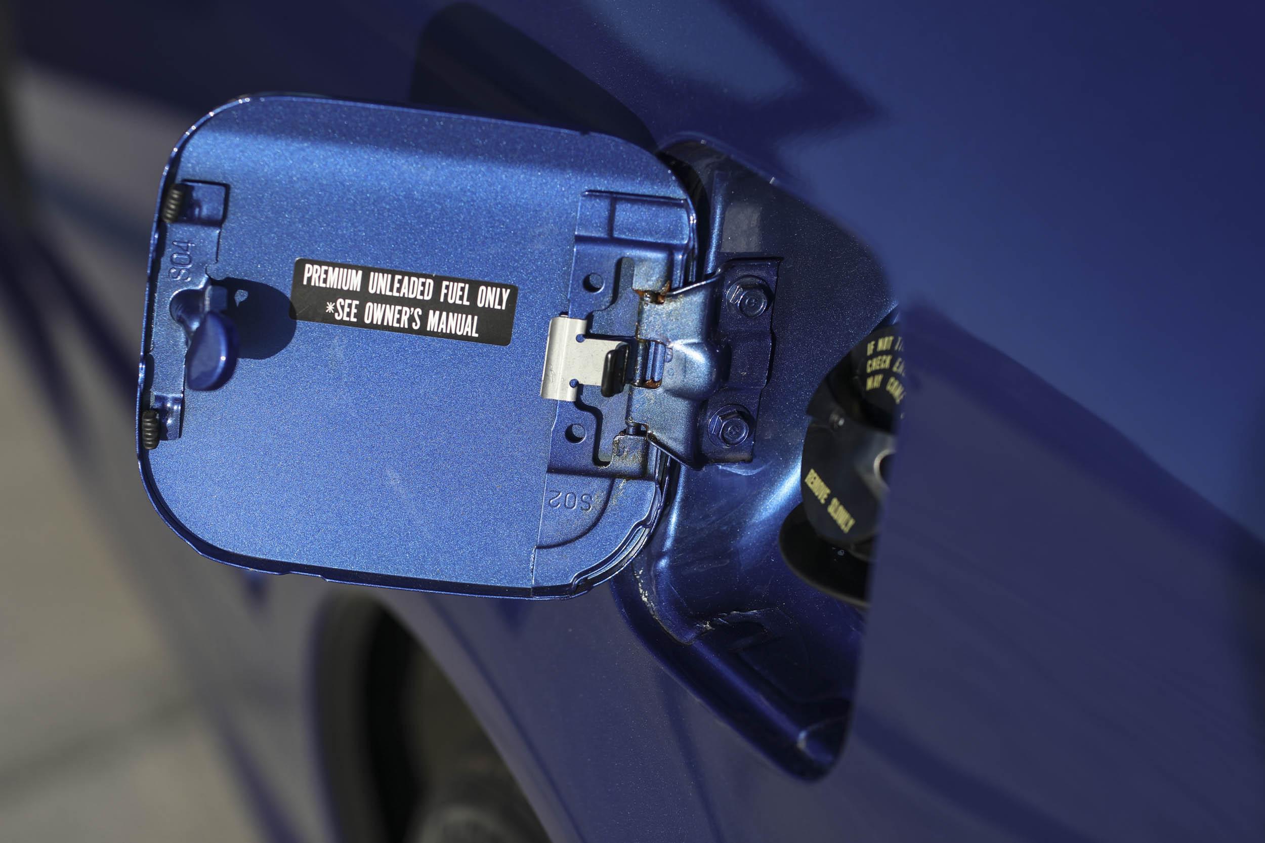 1999 Honda Civic Si gas cap
