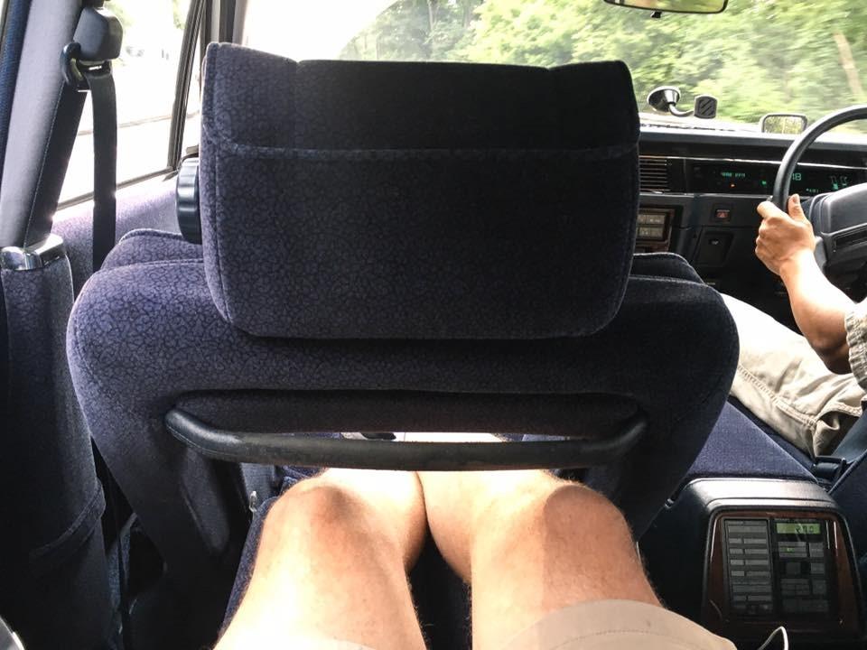 Toyota Century foot rest