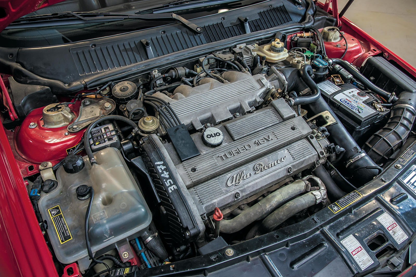 1993 Alfa Romeo 155 GTA Stradale Sports Saloon engine