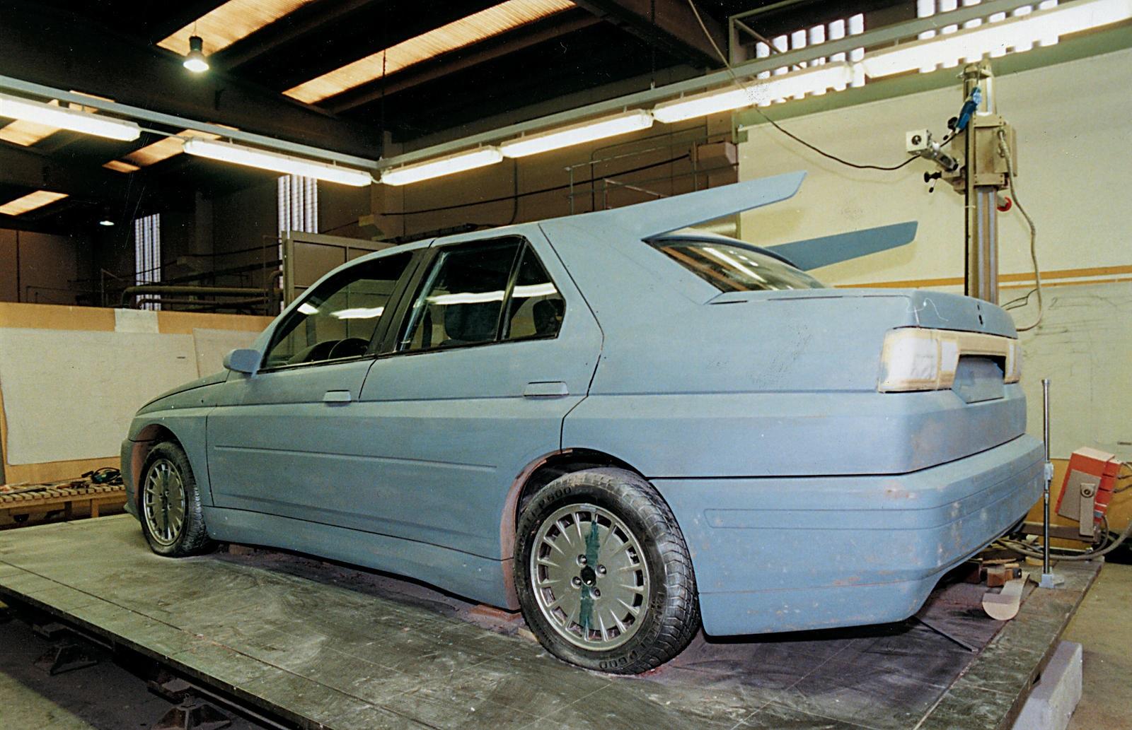 1993 Alfa Romeo 155 GTA Stradale Sports Saloon concept