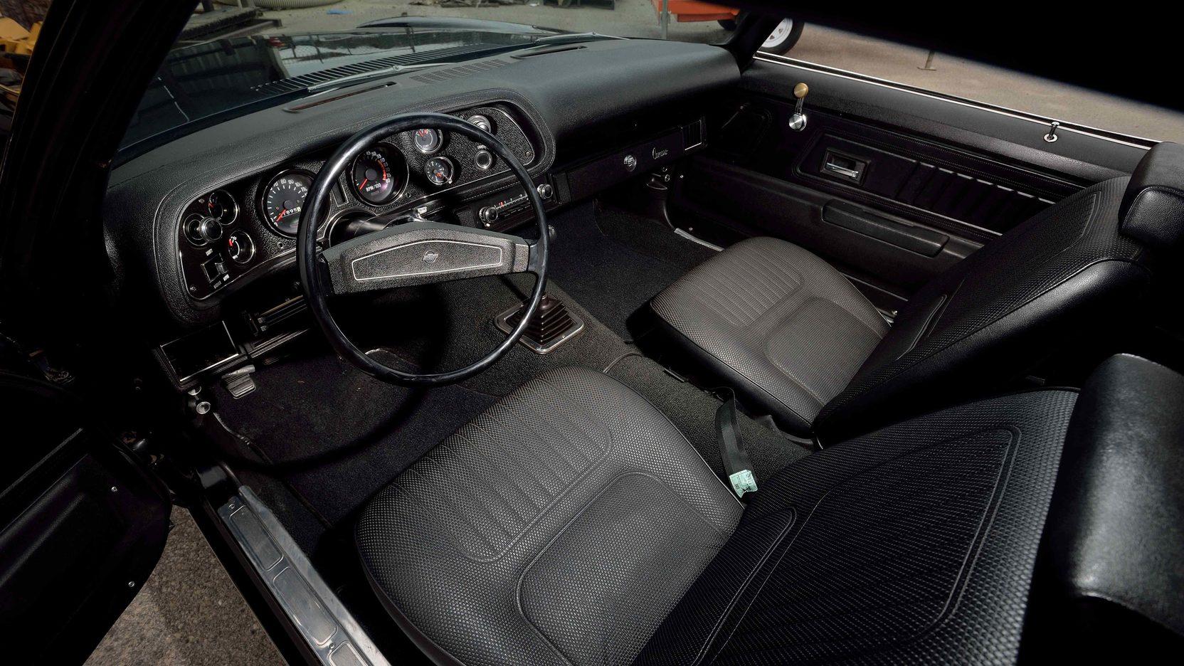 1970 Chevrolet Camaro Z28 interior
