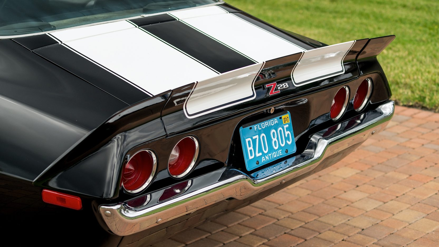 1973 Chevrolet Camaro Z28 rear