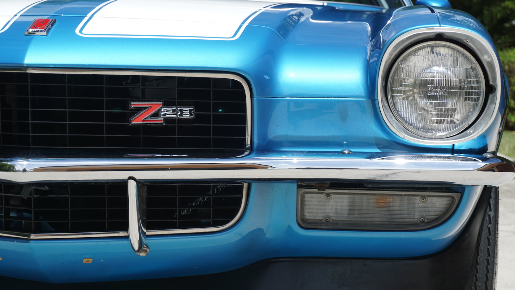 1971 Chevrolet Camaro Z28 nose