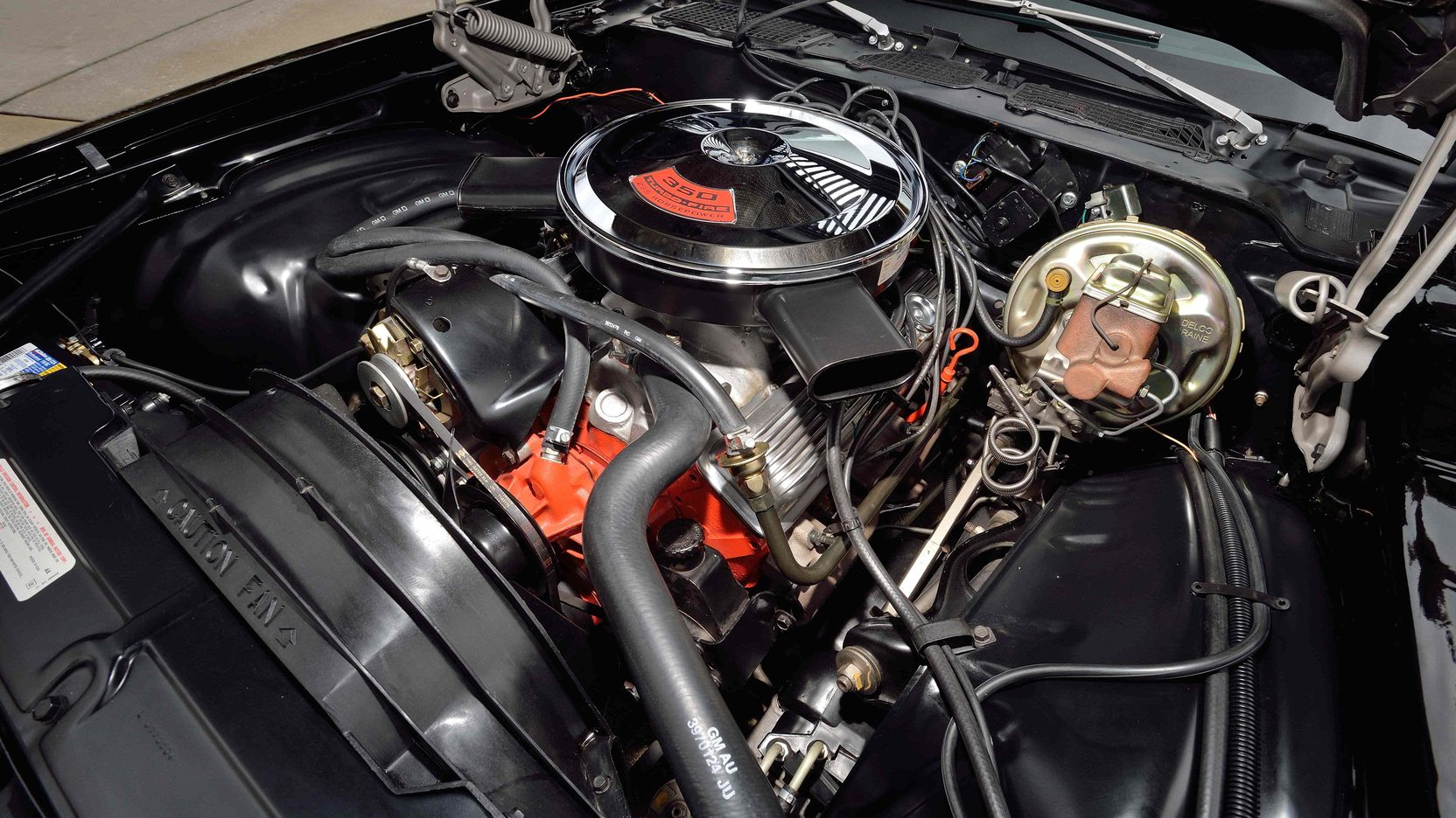 1972 Chevrolet Camaro Z28 engine