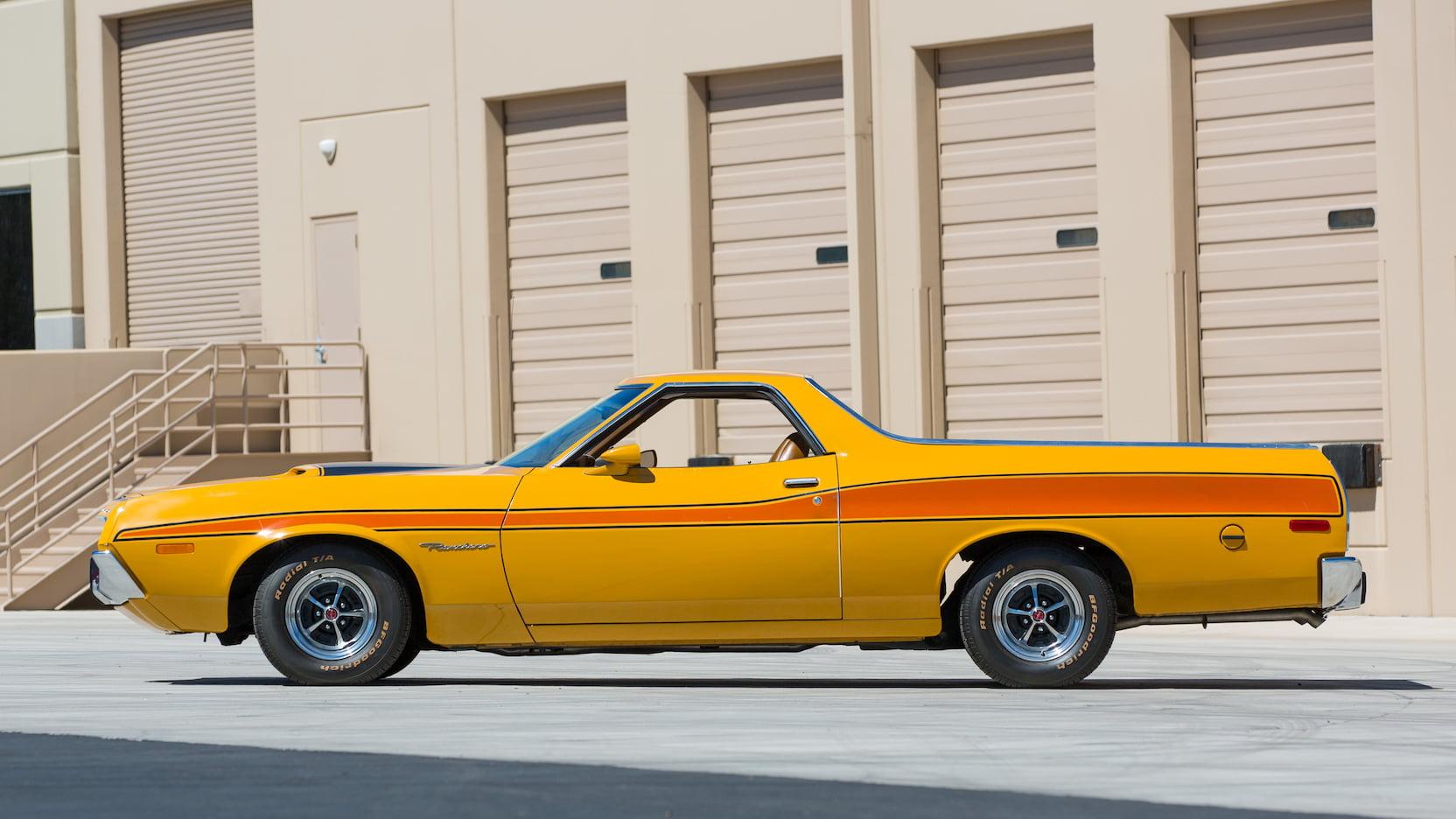 1972 Ford Ranchero profile