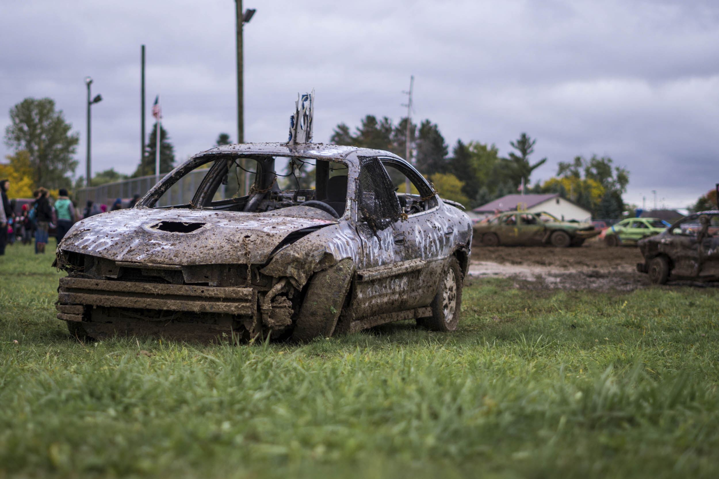 demolition derby battle scars