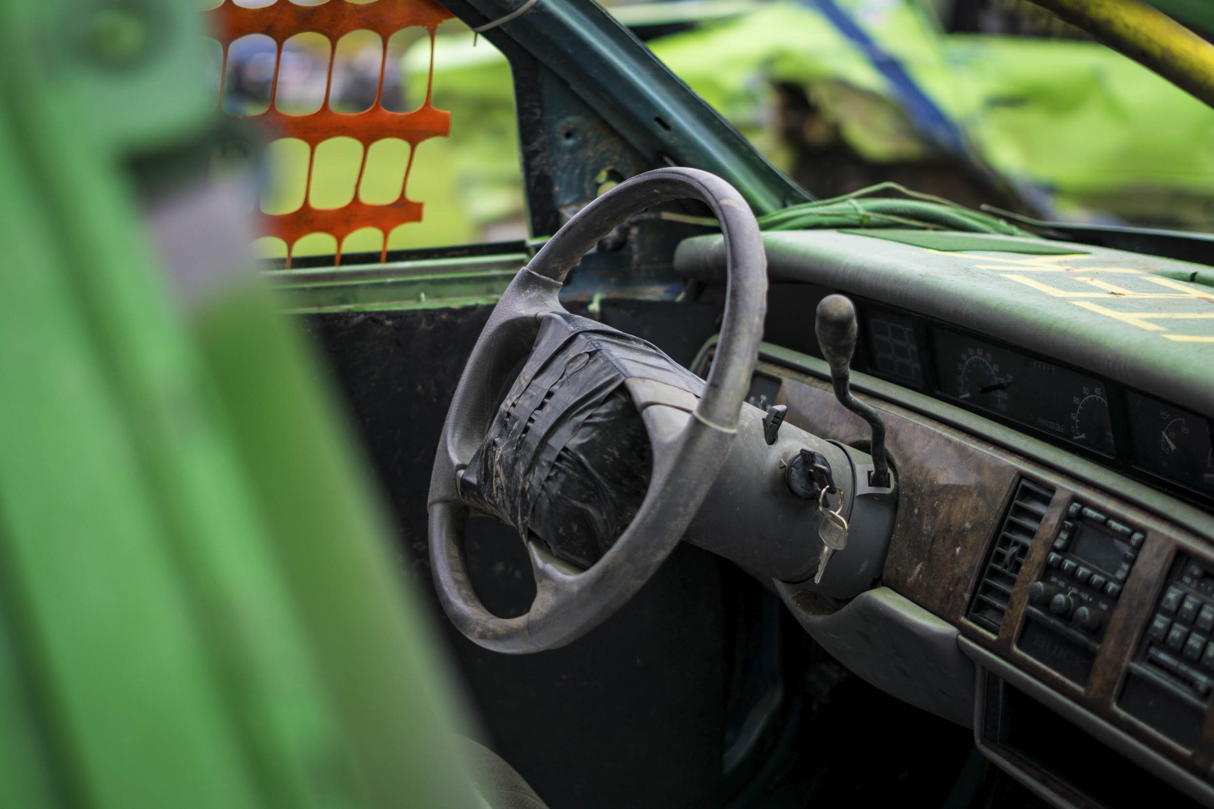 demolition derby interior