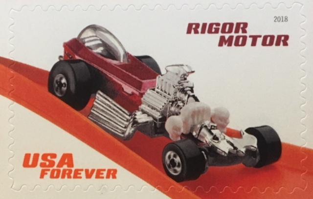 Rigor Motor Hot Wheel stamp