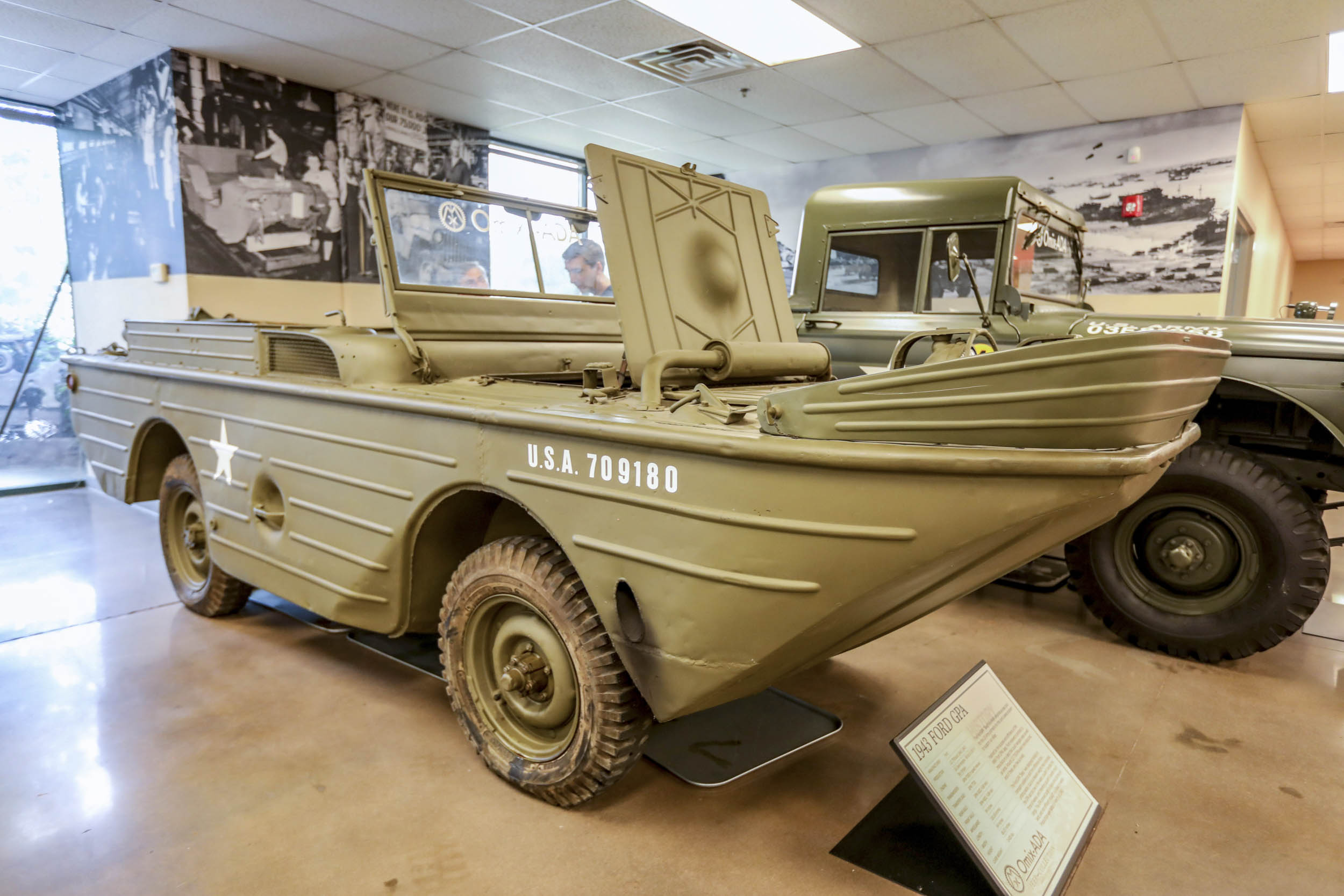 Ford's attempt at an amphibious Jeep, the GPA was almost as ungainly on land as it was on water. Many ended up in WWII service in the Soviet Union.