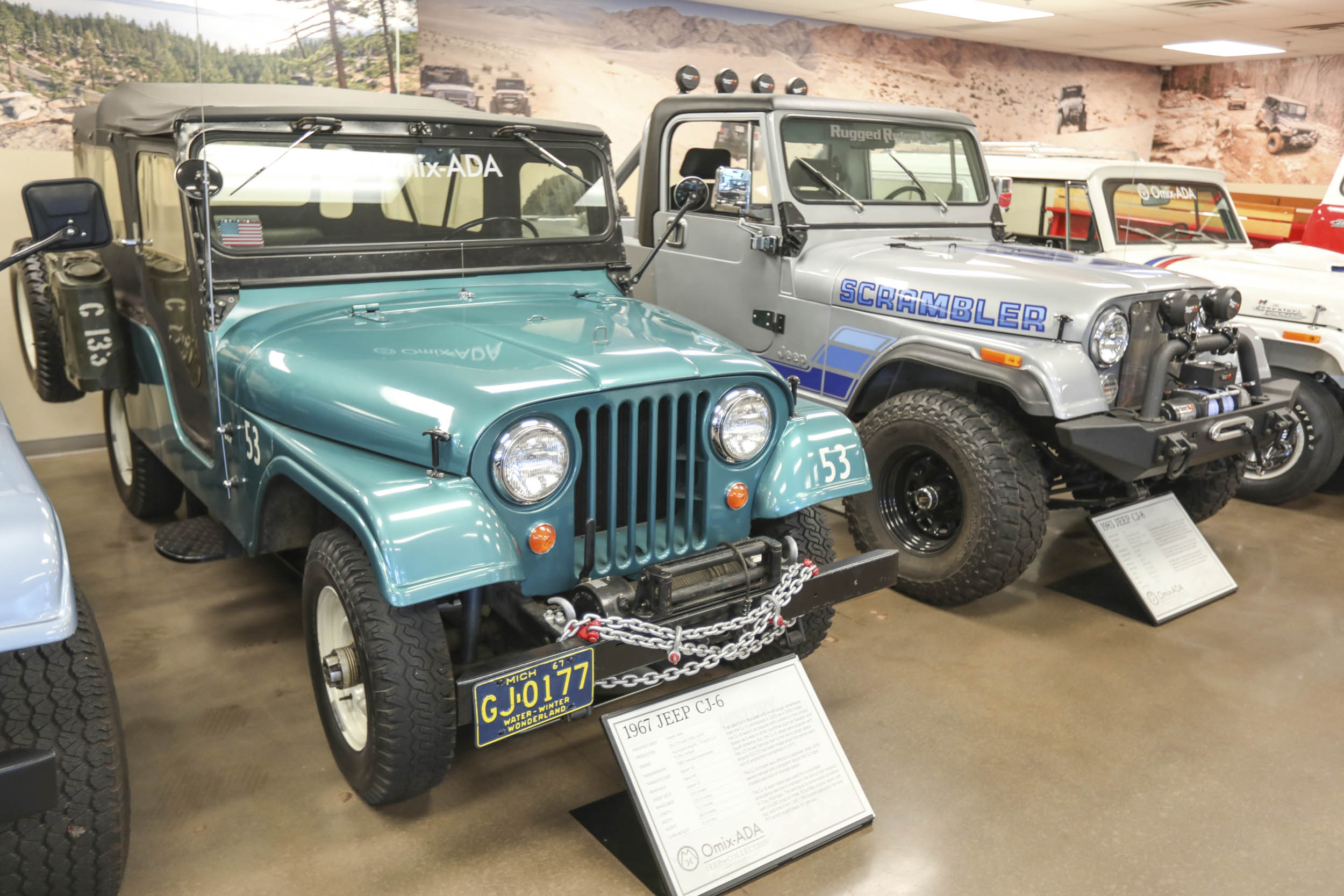 Before the Wrangler Unlimited, there were the CJ-6 and CJ-8, long-wheelbase versions of the CJ-5 and CJ-7, respectively.