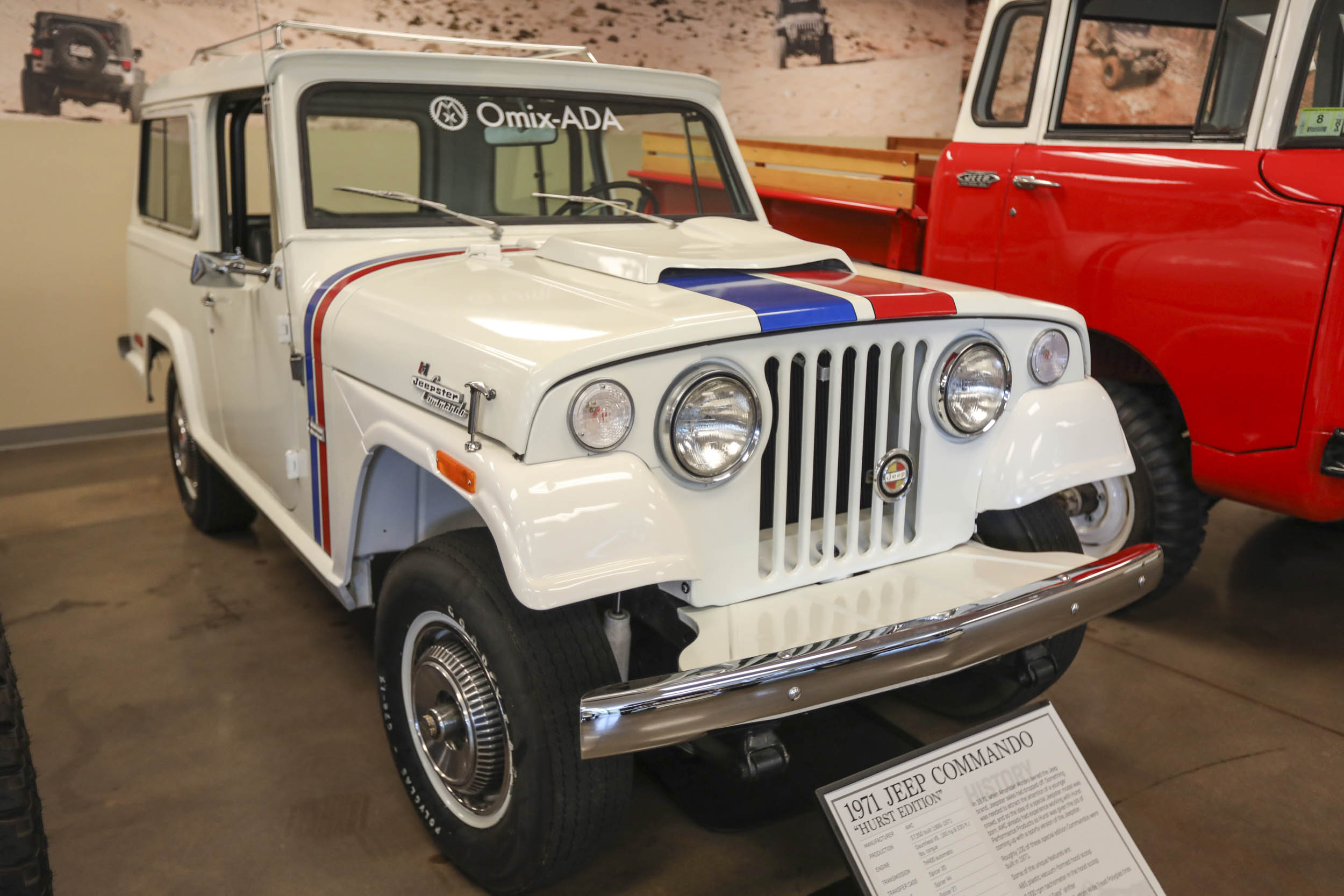 1971 Hurst edition Jeepster Commando was AMC's attempt