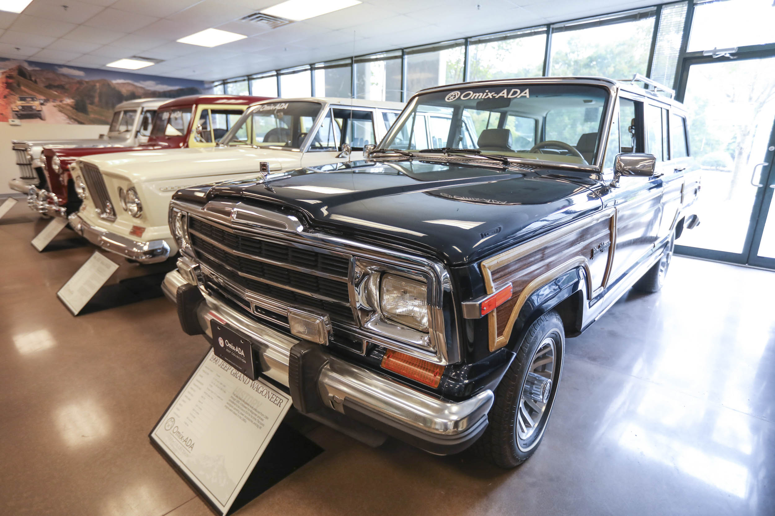 Like their Willys Wagon predecessors, Wagoneers had a long production run. This 1990 Grand Wagoneer was built after Chrysler's acquisition of Jeep, yet it still used AMC's 360-cu-in V-8.