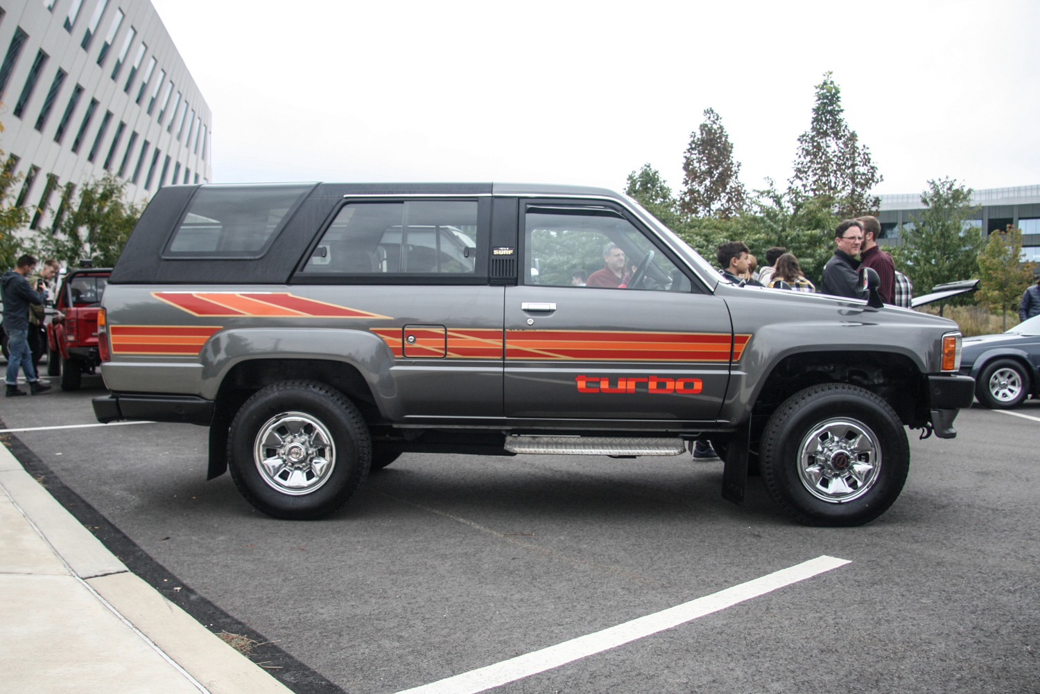 One of the only Toyota 4Runners in the country without rusted wheel arches.
