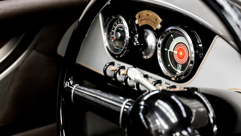 Morgan EV3 Concept gauges