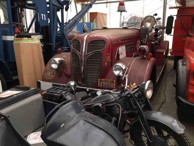 LeMay Collection Marymount firetruck