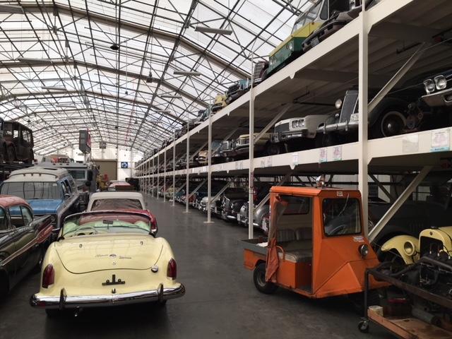 LeMay Collection Marymount car rack storage