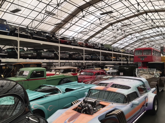 LeMay Collection Marymount rack storage concep cars