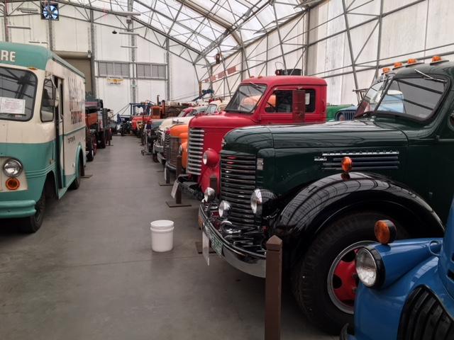 LeMay Collection Marymount big trucks