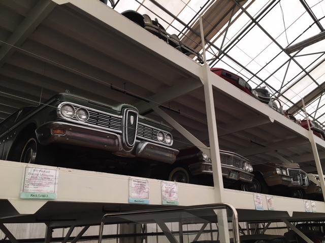 LeMay Collection Marymount edsel on rack