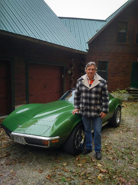 David Hallman Hagerty Collector of the Month 1972 Corvette