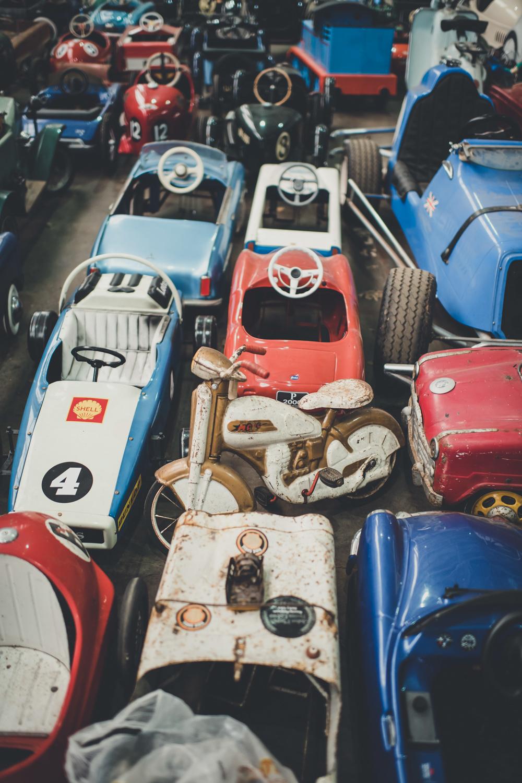 Bicester peddle cars