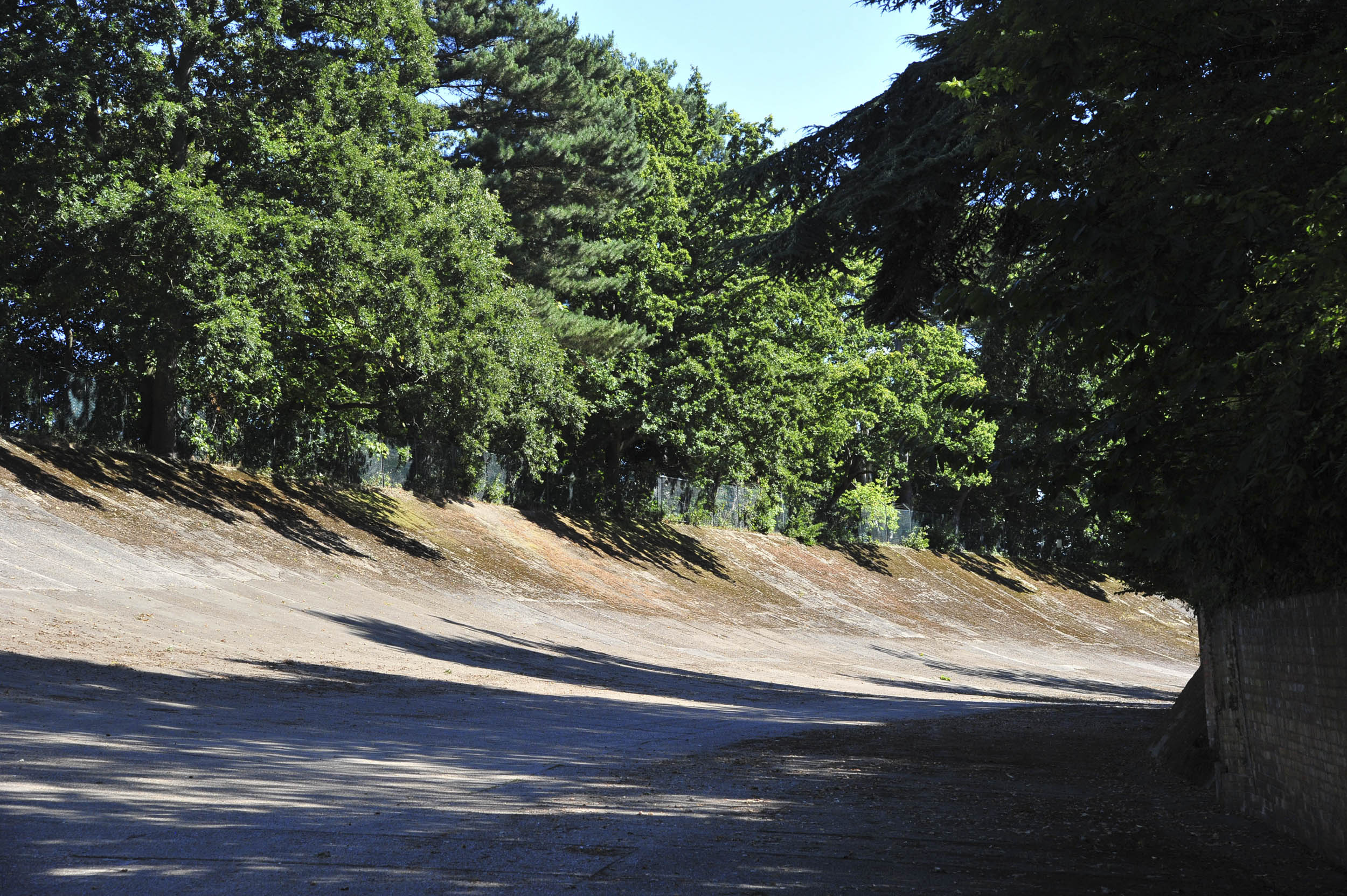 Brookland Museum race track