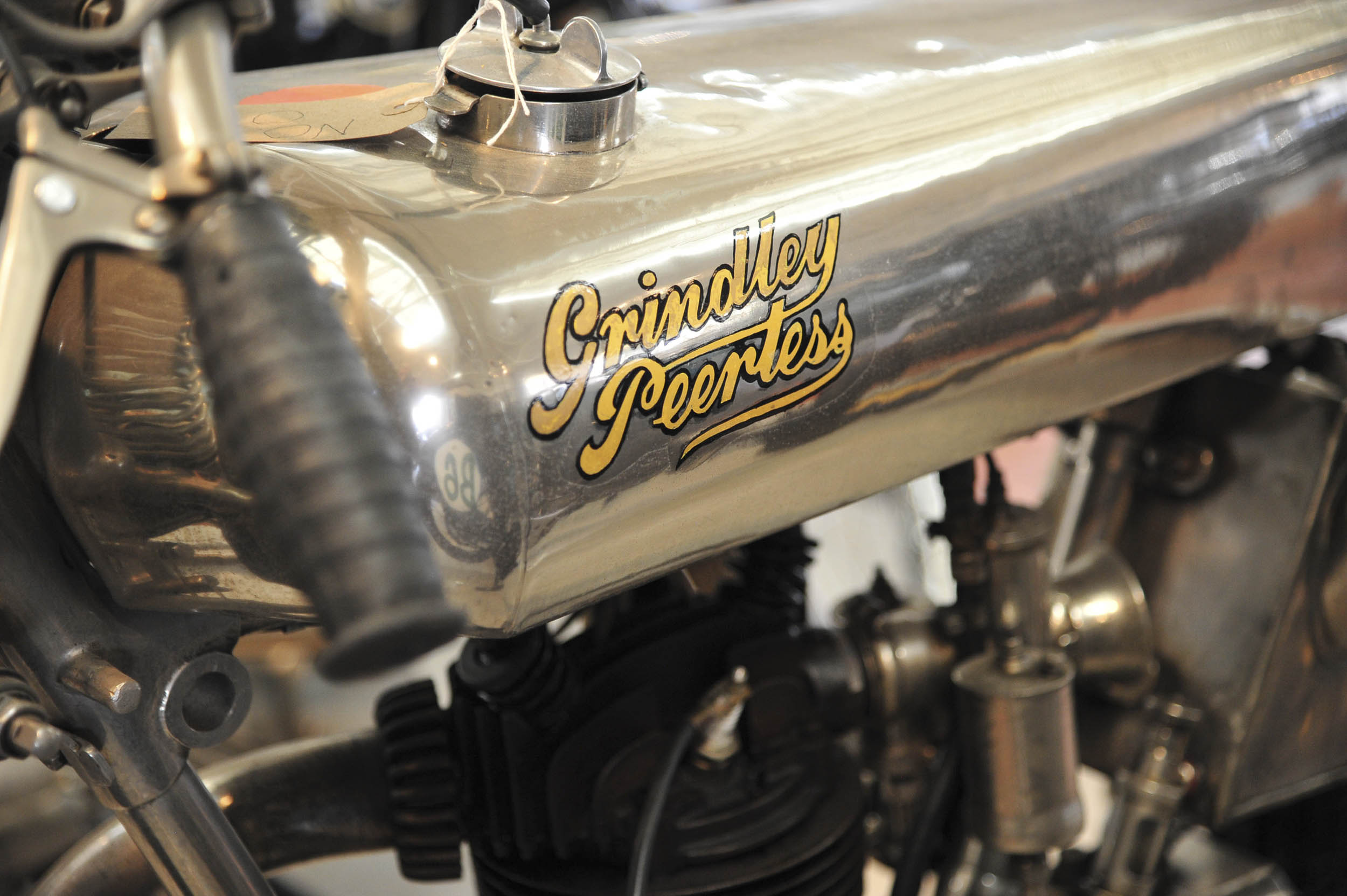 Brookland Museum Grindlay Peerless motorcycle