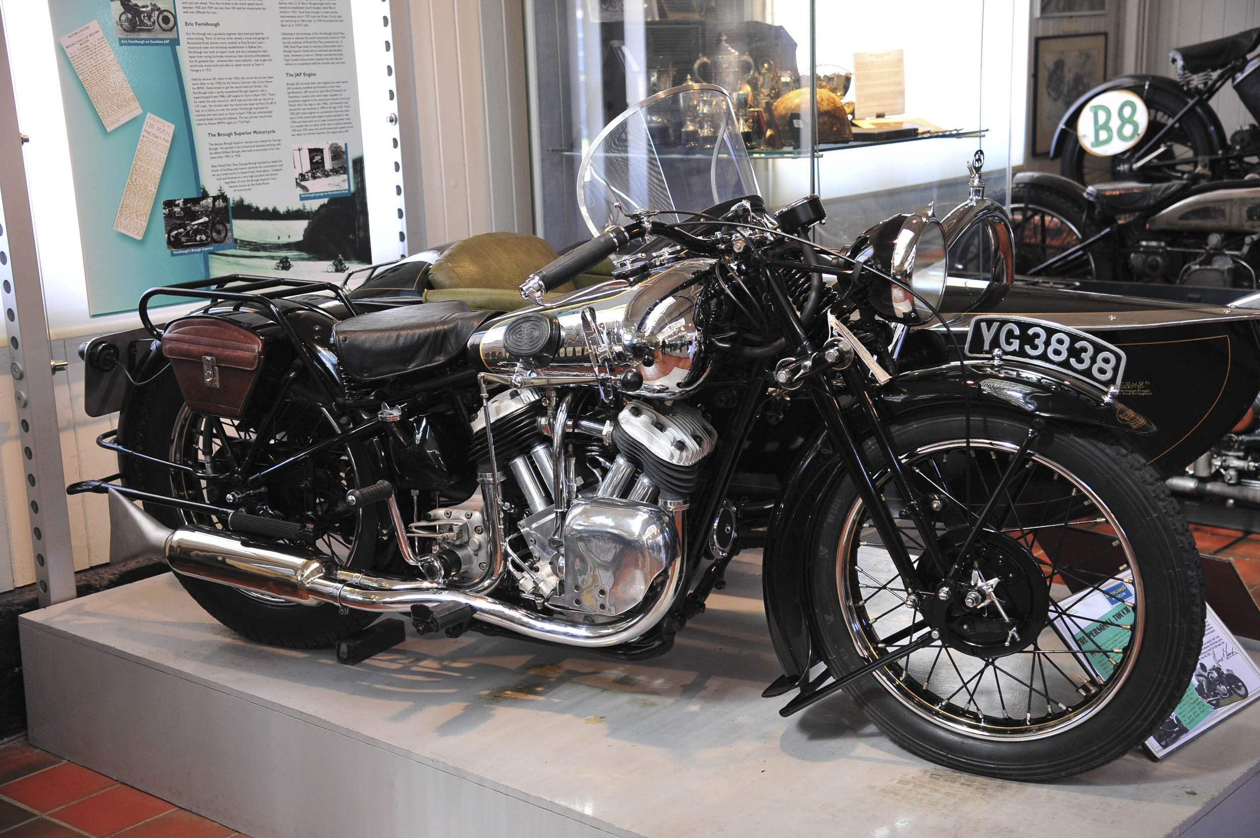 Brookland Museum motorcycle
