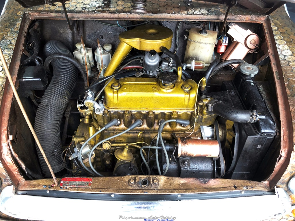 1968 Morris Mini-Minor engine