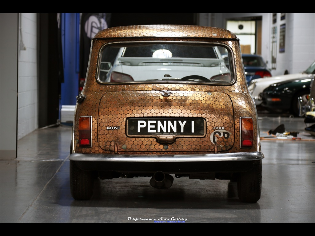 "1968 Morris Mini-Minor ""Penny Lane"" rear"