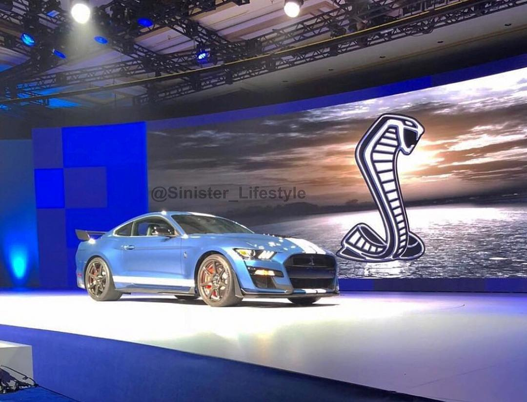 Sure looks like the Ford Mustang Shelby GT500 was just leaked thumbnail