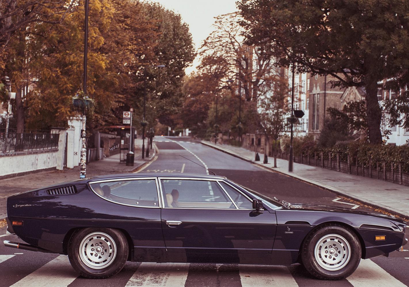 Abbey Road now belongs to the Lamborghini Espada thumbnail