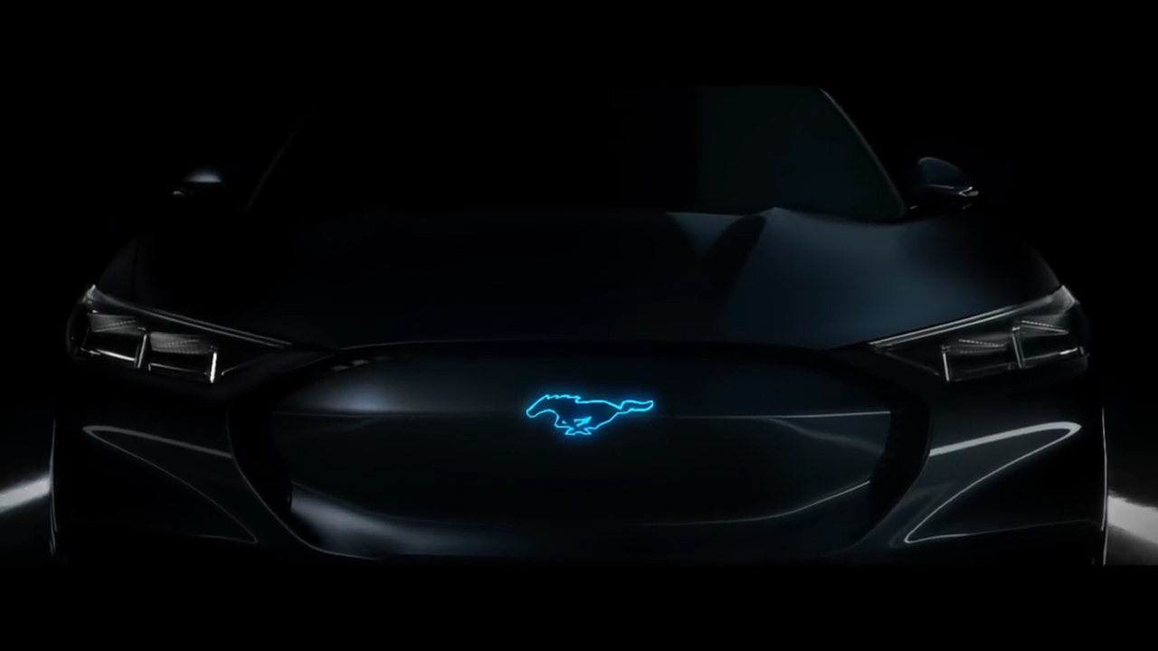 The Future is Built Ford Proud Mustang