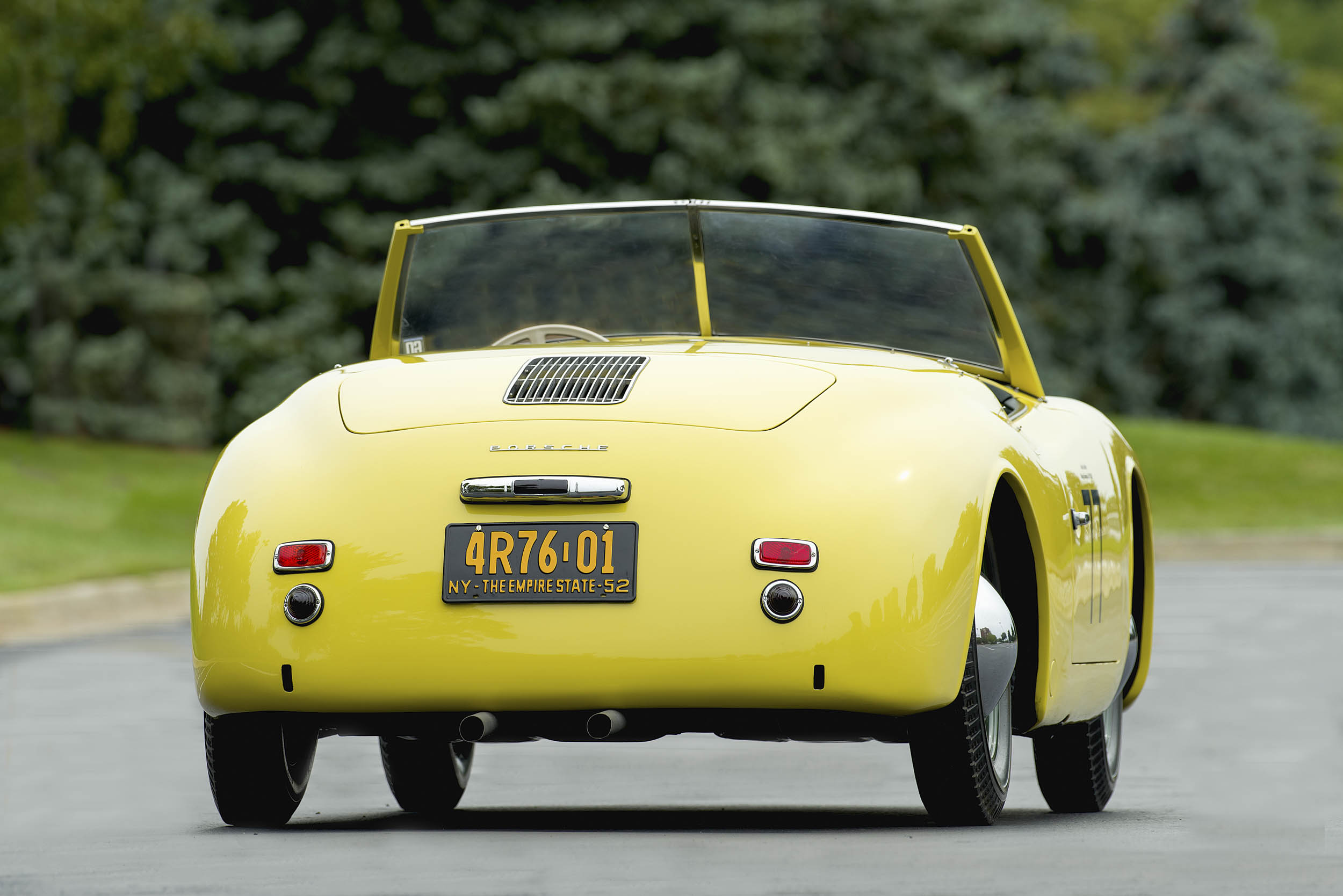When the car left Hoffman it probably sported a 1952 New York license plate, as it does today.