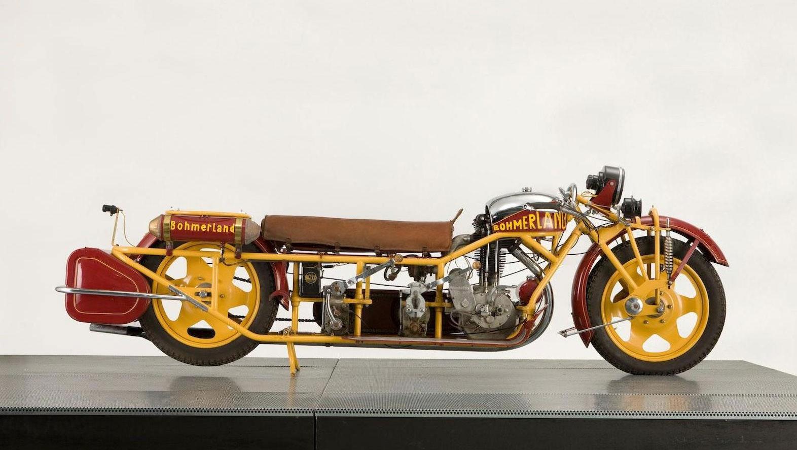 1937 Böhmerland 603cc Langtouren
