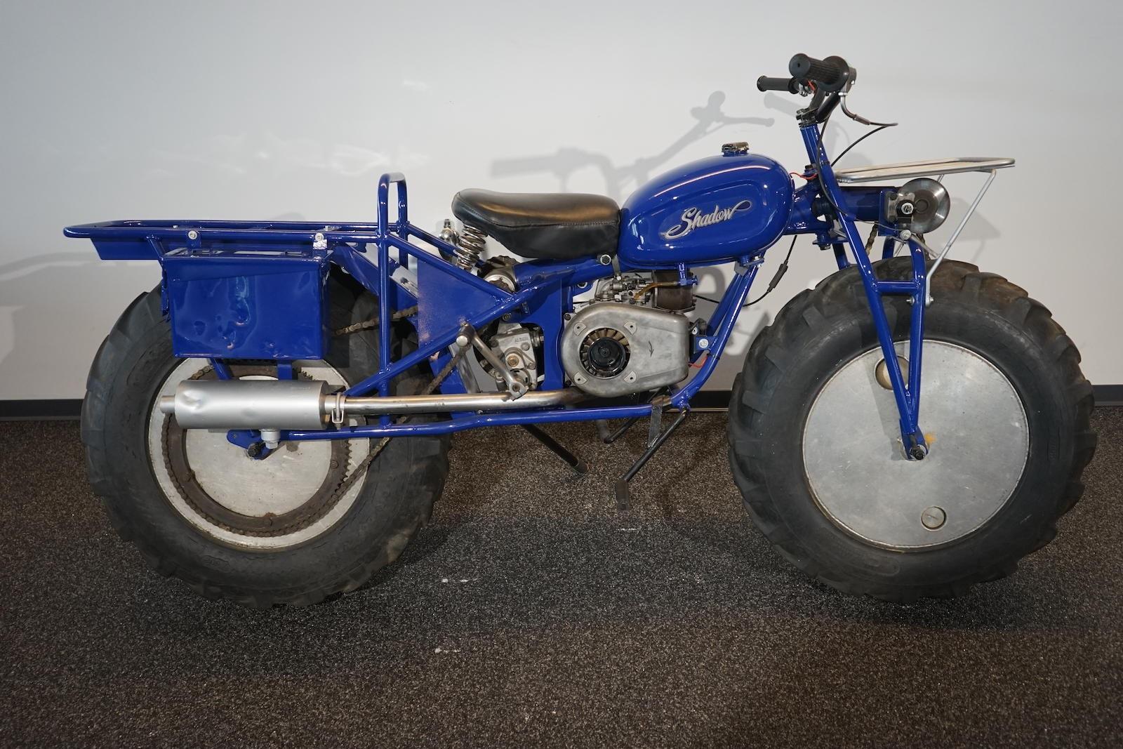 c.1969 Rokon Trail-Breaker Two-wheel-drive Motorcycle